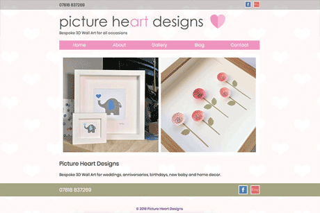 Picture Heart Designs